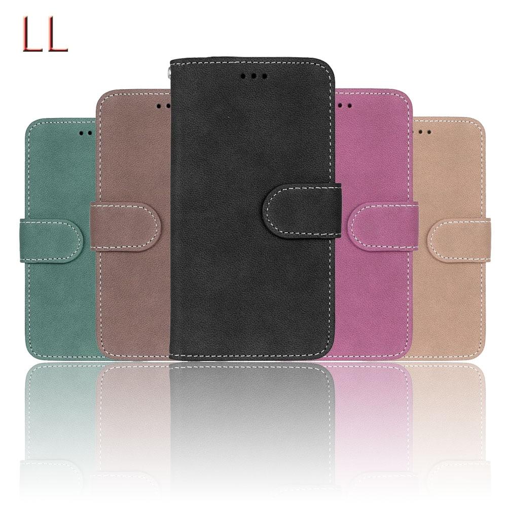 Galleria fotografica Leather Case For Samsung Galaxy J3 2016 J320 J320F SM-J320F Case Flip Cover Protective Case for Samsung Galaxy J3 2015 J300 Bags