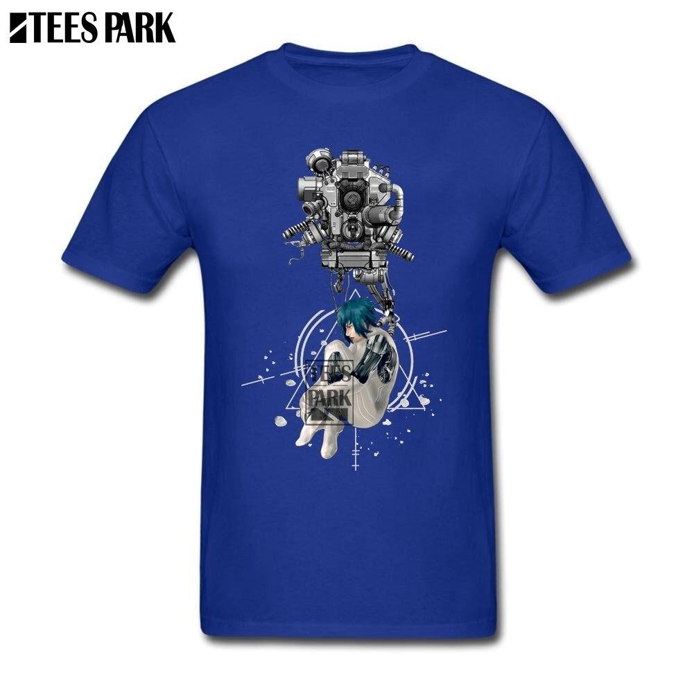 83c12d53 Fun Tee Shirts Ghost In The Shell Gits Printed Tees Teenage Slim Fit Short  Sleeve Tee