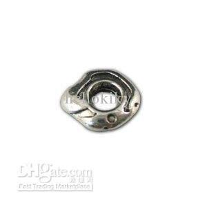 12dac5a0b187 200 piezas plata tibetana metal espaciador de los granos para las pulseras  del encanto A11128