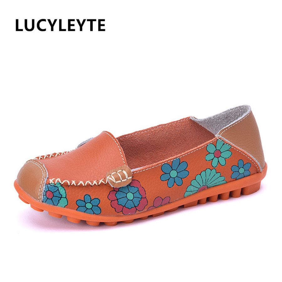 Flat casual casual comfortable soft leather skin ladies flat with leather shoes wild peas mother shoes 2015 recommended straw star with peas leather shoes casual shoes