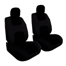 Univesal Car Seat Covers Truck Suvs VANS Fits Two Front Faux Leather For Suv Vans Airbag Compatible Breathable