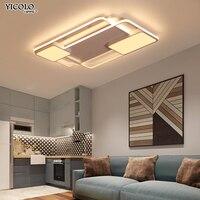 Современный светодио дный светодиодный потолочный светильник с пультом дистанционного управления для гостиной спальни поверхностный мон
