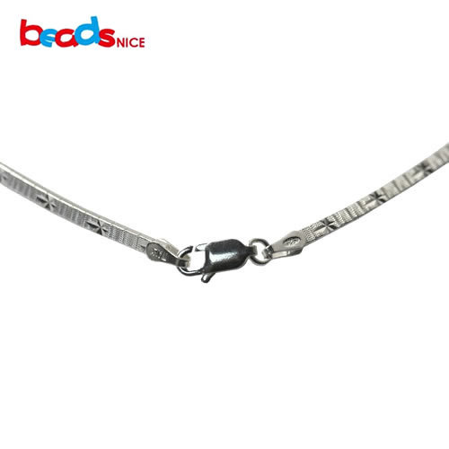 Beadsnice 16inch chocker necklace sterling silver jewelry italian necklaces wholesale elegant pure 925 silver necklace for women elegant 925 pure silver necklace for women silver