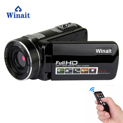 Winait 24MP IR RED Night Vision Digital Video Camera 1920x1080P Full HD 3 Screen Li-Battery Remote Control Wide Angle Optional