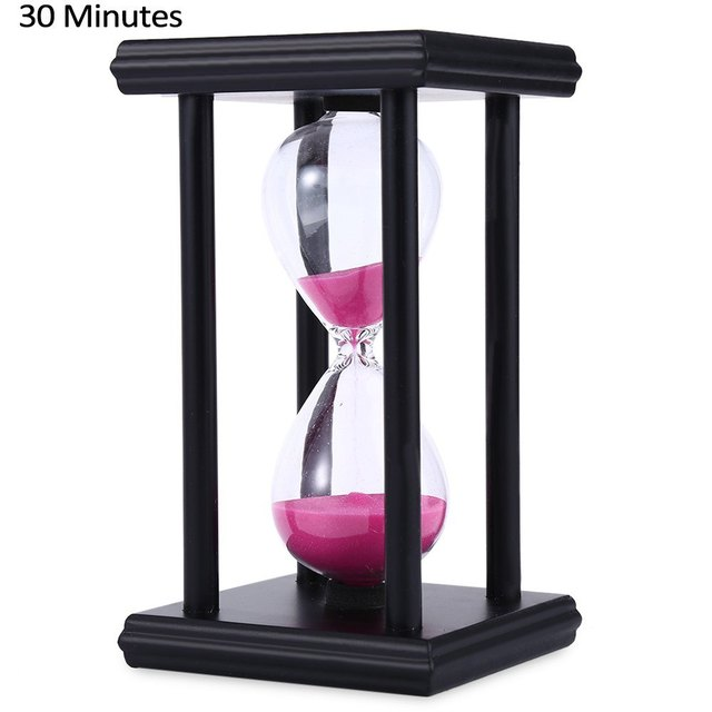 stylish ornament 30 minute sand hourglass countdown timing modern