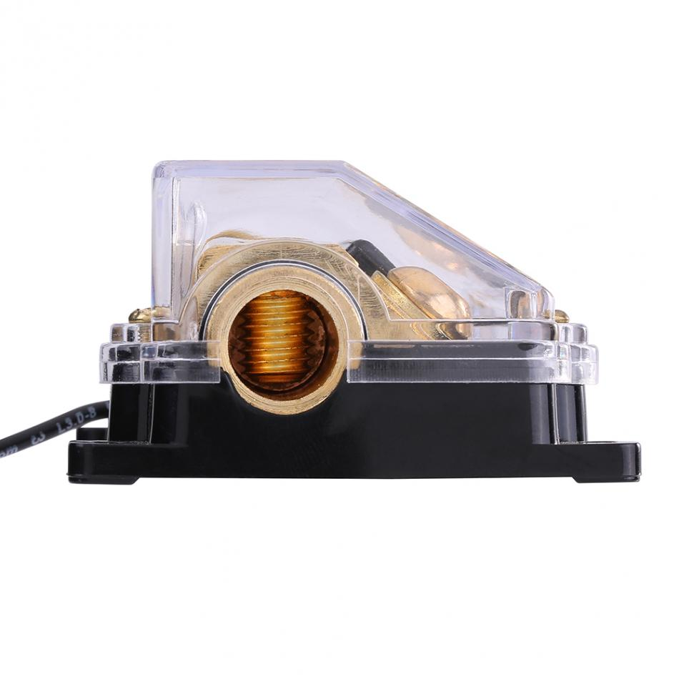 Universal 100a Car Auto Vehicle Audio Power Fuse Box Holder Block 1 X