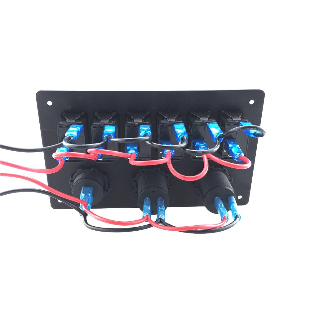 IZTOSS Digital Voltmeter + 12V Steckdose + Doppel USB USB Ladegerät - Autoteile - Foto 4