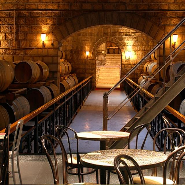 Free shipping european wine cellar wallpaper ktv bar