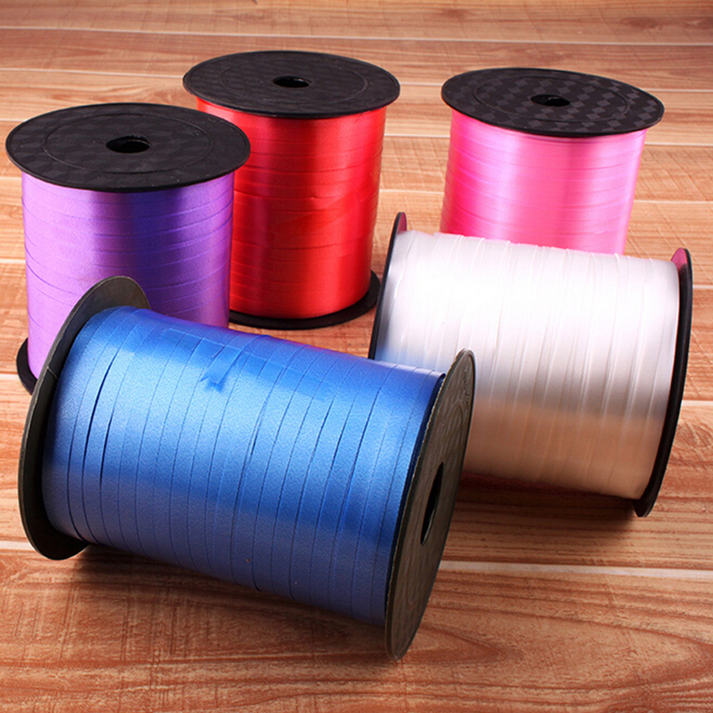 250 Yards//Roll Balloon Curling Ribbon Plastic Colored Wedding Party Gift Decor