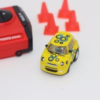 Amazing fun 5cm mini rc toys for boys with wireless rc stunt robot model gift for children