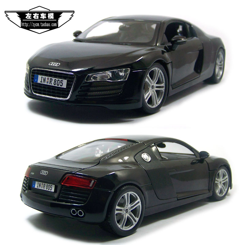 MAISTO 1/18 Scale Germany AUDI R8 Diecast Metal Model Toy New In Box For Collection/Gift/Decoration maisto jeep wrangler rubicon fire engine 1 18 scale alloy model metal diecast car toys high quality collection kids toys gift