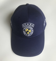 Biohazard STARS S.T.A.R.S. RPD Logo RACCOON POLICE DEP Embroidery Hat Dark Blue Cosplay Baseball Cap