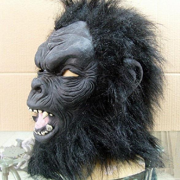 Must Chimp Monkey mask Hood koos fancy kleit Monkey Chimp mask - Pühad ja peod - Foto 2