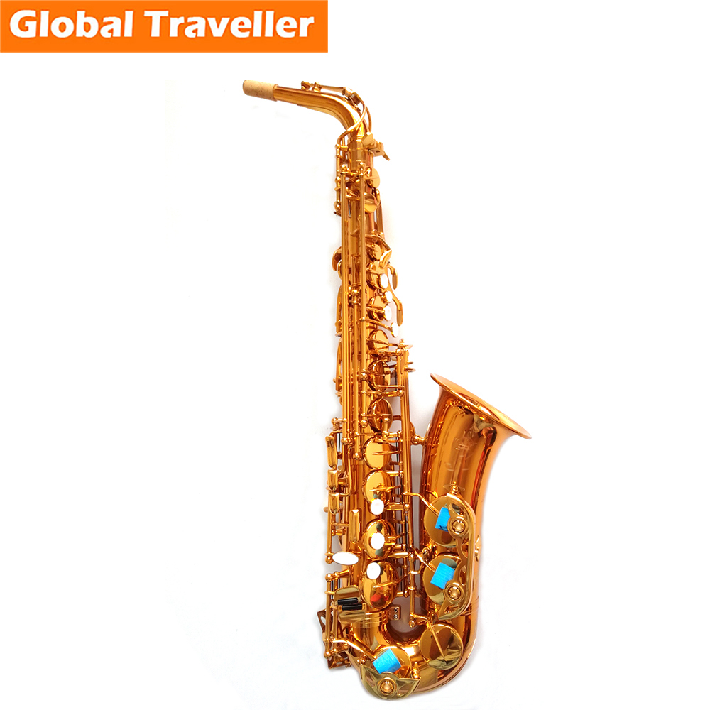 SILLY CAT Handmade professional  Eb Alto Saxophone Eb Sax E flat Woodwind instruments Classical Jazz Blues Pop style