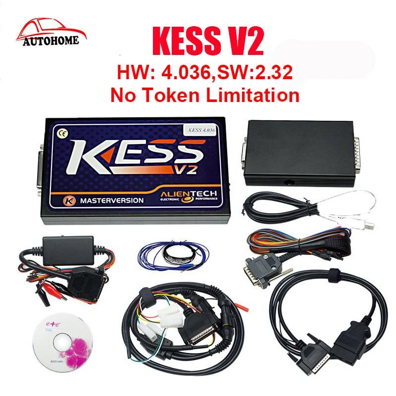 Цена за KESS V2 V2.32 HW V4.036 Тюнинг Комплект без маркер Limited ЭБУ прошивка KESS V2.32 KESS Тюнинг Комплект KESS V2 мастер