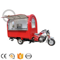 KNFR200i Customized 220*160*235 mobile food truck for sale Europe with headstock
