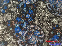 High Quality Flower Pattern Faux PU Leather Fabric For DIY Sewing Sofa Table Shoes Bags Bed