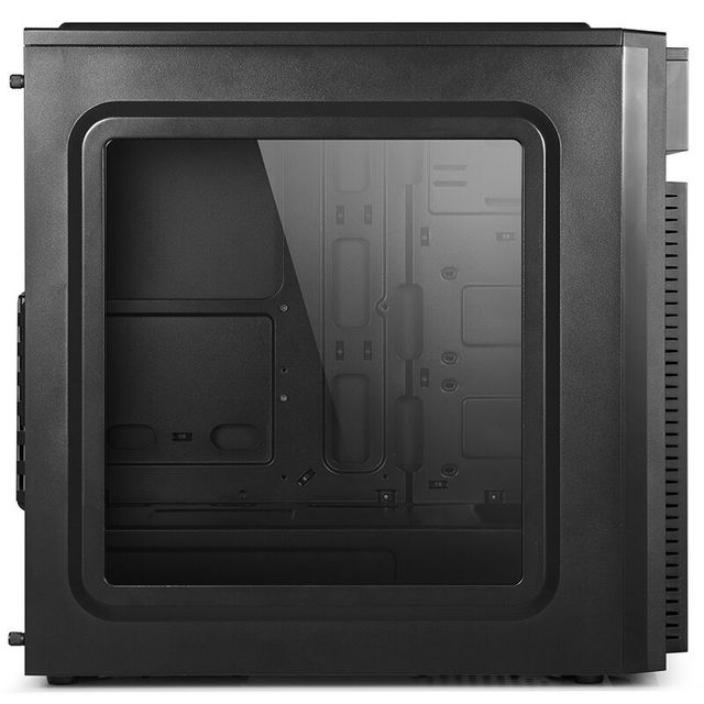 GETWORTH R20 DIY Desktop Computer I5 7500 8G DDR4 MSI H170M Gaming PC No System Office Computer 1TB HDD MATX CPU Gamer