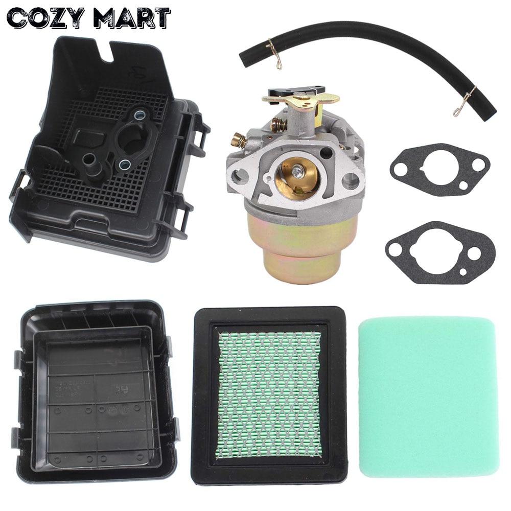 Carburetor & Air Filter Cover Sets For GC135 GC160 GCV160 GCV135 HRT216 HRT216K1 HRT216K2 Lawn Mowers Engine # 16100-Z0L-023