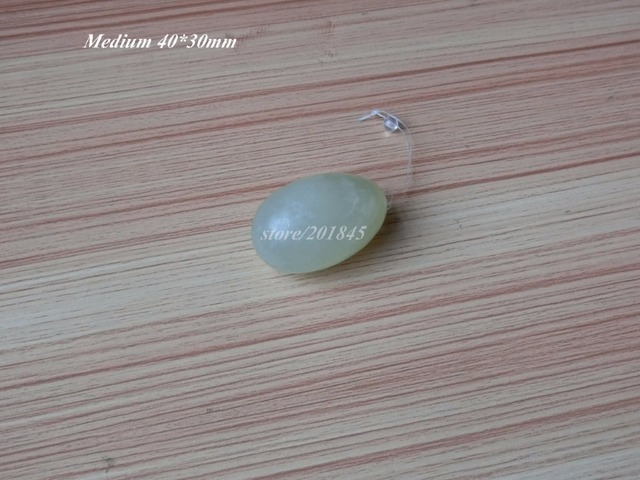 6Pcs Jade Eggs For Kegel Muscles Exercises Strengthen Pelvic Floor Muscles Natural Xiu Yan Light Green
