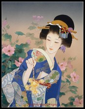 Needlework for embroidery DIY DMC High Quality - Counted Cross Stitch Kits 14 ct Oil painting - Ryo Firework Lady