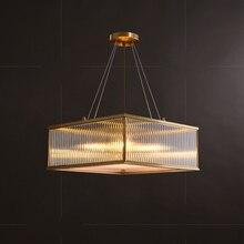 Modern Pendant Lamp China Copper Restaurant Home Living Room Light Luxury Bedroom Study Glass Pendant Lamp Loft Decor Cafe Art