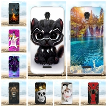 For Lenovo A Plus Cover Ultra Thin Soft Silicone TPU A1010a20 Case Floral Patterned A2016a40 Bumper Funda