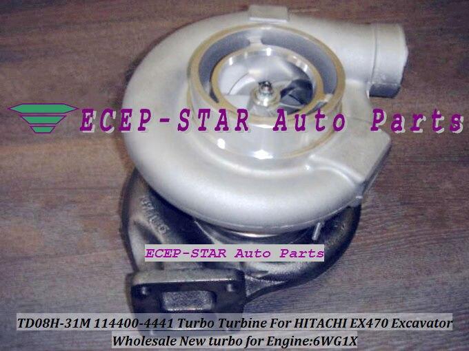 TD08H 31M 114400 4441 114400 4440 49188 01831 Turbo For HITACHI ZX450 ZX470 EX470 ZX500 ZX520