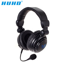 HUHD HW-933MI 2.four Ghz Optical Wi-fi Stereo Vibration Gaming Headset For PS4,xbox,PC,headphones with microphone,LED backlight