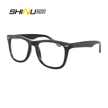 Anti Blue Ray Computer Eyewear UV400 Antifatigue Eyeglasses Women Men Goggle Cha