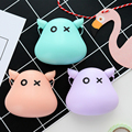 Lovely Little Devil 3.5mm In-Ear Stereo Earphone Candy Color Earbud With Microphone For iPhone Sumsung Phones