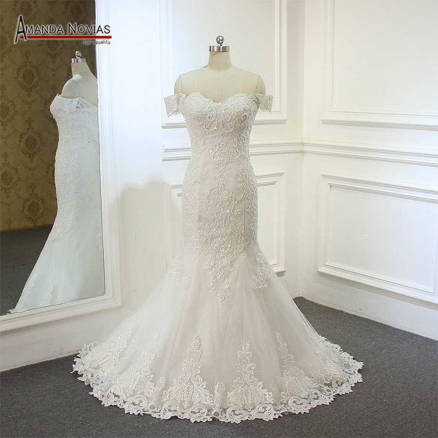 Simple But Elegant Wedding Dress: Simple But Elegant Mermaid Wedding Dress New-in Wedding