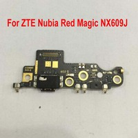 Original Best USB Port Dock Charger Connector Fast Charging Board With Microphone For For ZTE Nubia Red Magic NX609J Flex Cable