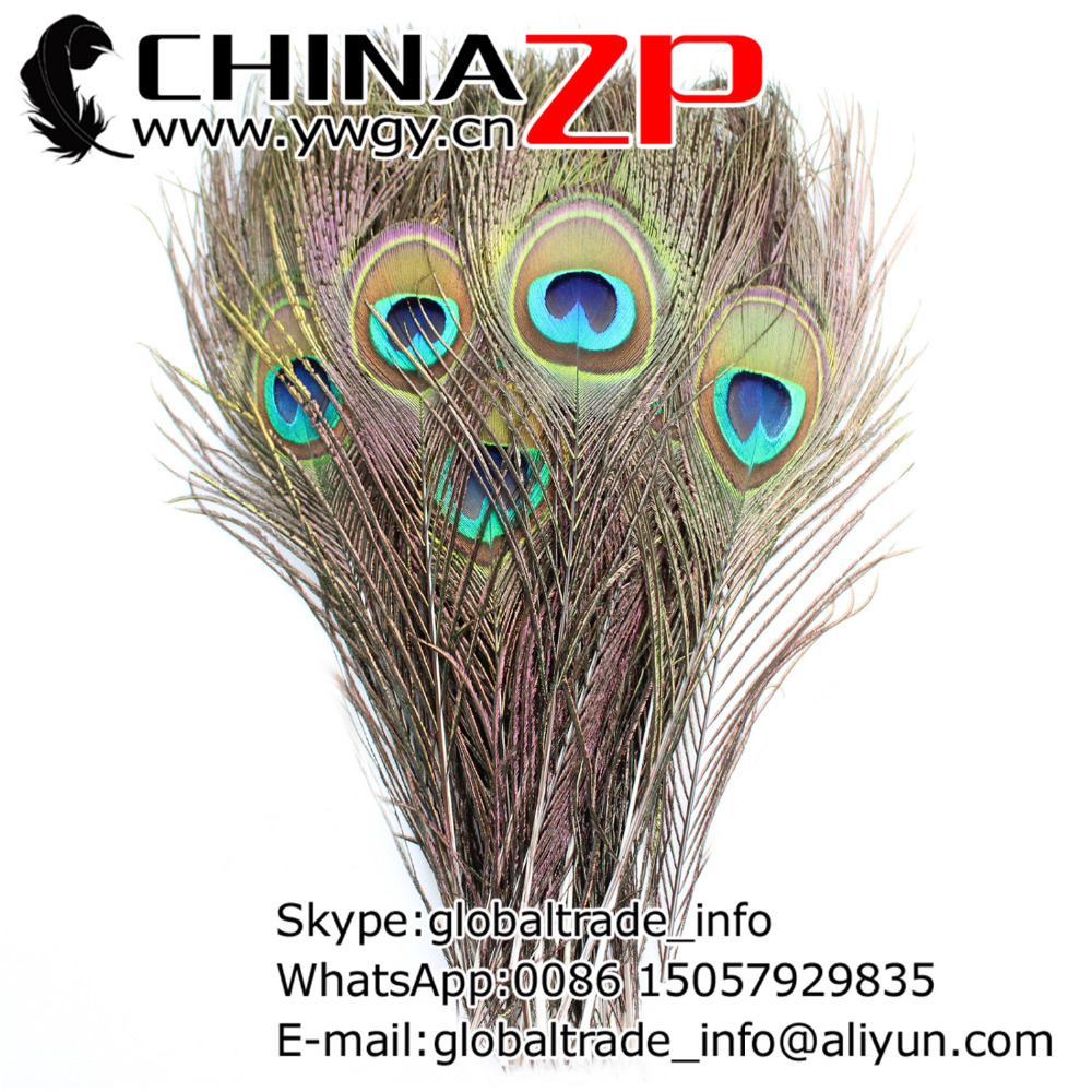 Made in CHINAZP Factory 50pcs/lot 25 30cm(10~12inch) Length Exporting High Quality Big Eye Peacock Feathers|peacock feathers|peacock eye featherseye feathers - AliExpress