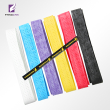5pc/lot FANGCAN anti-skid PU tennis/badminton racquet grip and overgrip buffed grain senior keel overgrips