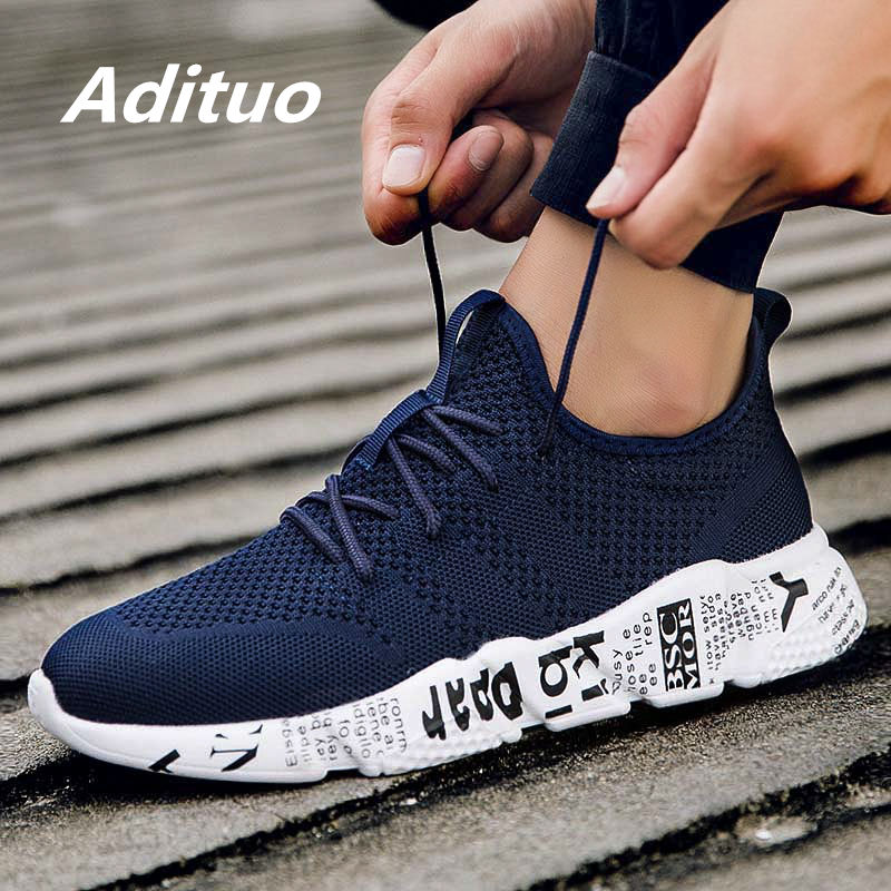 Da Uomo Athletic Mesh Sneaker Basse Sport All/'aperto Scarpe Da Ginnastica Running Scarpe da Trekking Fashion