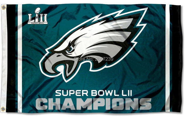 3822afeb850c0 2017 Philadelphia Eagles Super Bowl Champions flag 3x5ft banner 100D  Polyester brass grommets custom flag
