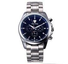 Relógios do homem da forma dos homens Relógios mecânicos autênticos homens relógios relogio relógios de aço hommer