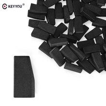 KEYYOU 10 pçs/lote Chave Transponder Chip de Chave Remota Em Branco Para O Toyota G Chip Transponder Virgem Remtekey Chip de Chave Do Carro de Carbono