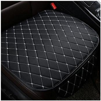 1x Non-slip PU Siège De Voiture En Cuir Couverture Pad pour le Siège Auto Coussin Protection Pad Tapis 50x53 cm