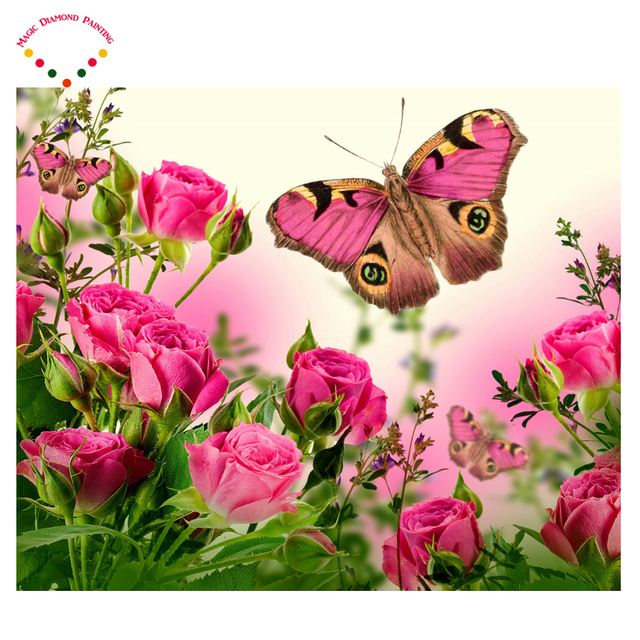 Image result for roses and butterflies