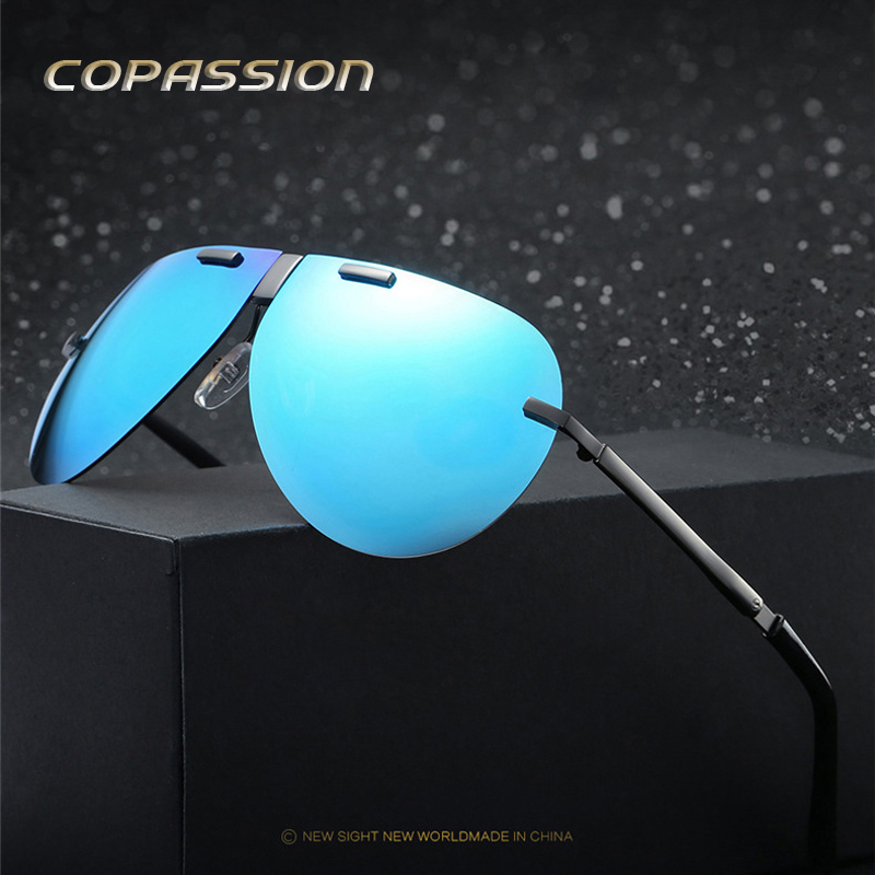 Foldable Portable Polarized sunglasses women men brand designer Folded driving fishing Glasses oculos uv400 Goggles Gafas De Sol