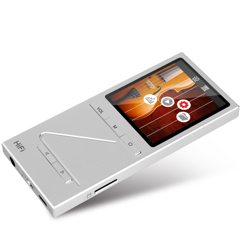 16824TW/25 ONN X5 8GB Full Metal Professional Lossless HIFI Music Player MP3 Player TFT Screen Support APE/FLAC/ALAC/WAV/WMA/MP3 onn w6 bluetooth hifi music mp3 player 8g storage with earphones
