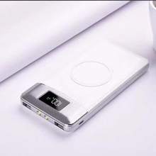 Wireless power bank 20000 mah Portable Power Bank 20000mAh External Battery DUAL Ports Powerbank Charger for Iphone