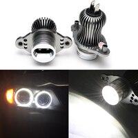 10W LED marker Halo ring bulb LED Angel Eyes For BMW E90 E91 DRL LED headlight angel eyes for BMW E91 E90 7000K white