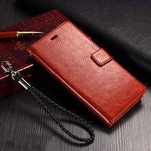 Luxo retro pu leather filp capa case para meizu mx6 mx 6 móvel telefone saco com titular stand case