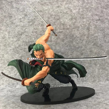 One Piece Roronoa Zoro Three thousand world battle ver Figure Toy PVC 17cm Action Figure Brinquedos Collection kids Toys Gift