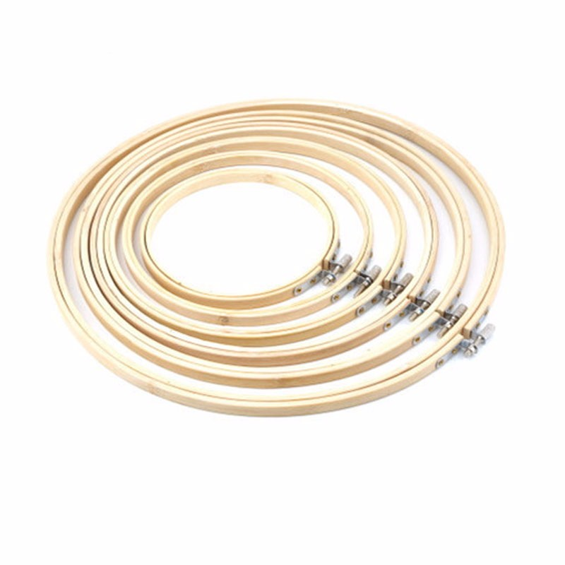 Neue 13 26 cm Stickerei Hoop Kreis Runde Bambus Rahmen Kunst ...