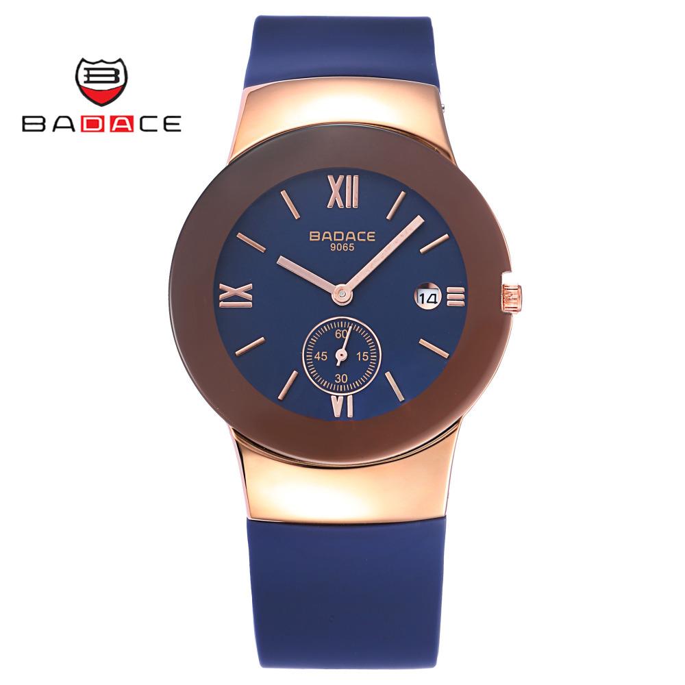 Prix pour BADACE 2 PCS/ENSEMBLE Montres Hommes Marque De Luxe Horloge Étanche Mâle Militaire Montre-Bracelet reloj hombre Sport Quartz Montre 9065