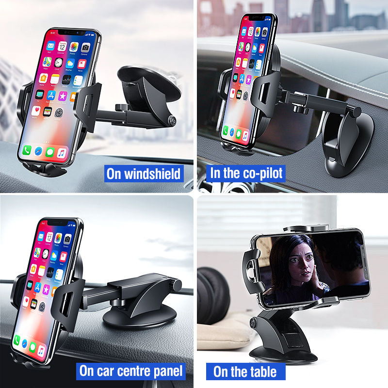 Ugreen Car Phone Holder No Magnetic Gravity Stand in the Car Suction Cup Support Holder for Your Mobile Phone 1